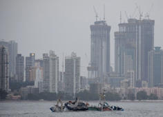 Floating restaurant capsizes off Mumbai