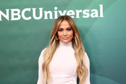 UNIVERSAL CITY, CA - MAY 02:  Jennifer Lopez attends the NBCUniversal Summer Press Day 2018  at Universal Studios Backlot on May 2, 2018 in Universal City, California.  (Photo by Tommaso Boddi/WireImage)