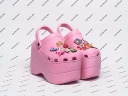 There are some high-fashion Crocs being produced... but no. Just no.