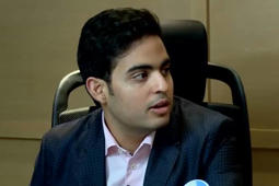 Akash Ambani's emotional speech
