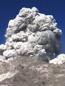 Volcano erupts while campers make breakfast in Indonesia