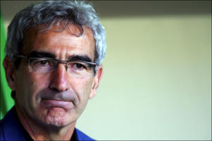 French manager Raymond Domenech.