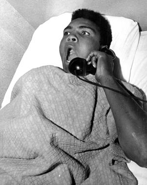 'I Am the Greatest. What time is it?' After a night of making Denver, and Sonny Liston in particular, aware of his presence Cassius Clay and troupe found accommodations at the Albany Hotel. The Denver Post caught him in bed Tuesday morning asking for the time of day and telling hotel employes what a great night he had Monday on the Liston home's front lawn.