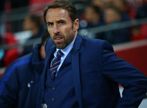 England's Manager Gareth Southgate  during FIFA World Cup Qualifying - European Region - Group F match between England and Slovenia  at Wembley stadium, London 05 Oct 2017 (Photo by Kieran Galvin/NurPhoto via Getty Images)