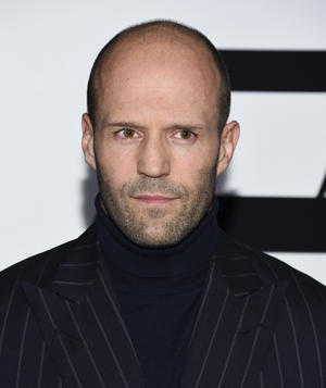 "Jason Statham attends the world premiere of Universal Pictures' ""The Fate of the Furious"" at Radio City Music Hall on Saturday, April 8, 2017, in New York. (Photo by Evan Agostini/Invision/AP)"