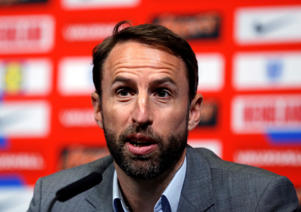 Soccer Football - FIFA World Cup - England Manager Gareth Southgate Press Conference - Wembley Stadium, London, Britain - May 17, 2018   England manager Gareth Southgate during the press conference   Action Images via Reuters/Andrew Couldridge