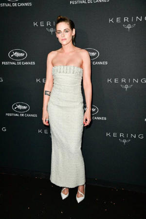 Kristen Stewart at the Cannes Film Festival dinner party (E-Press / Splash News)