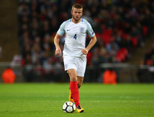 England's Eric Dier during FIFA World Cup Qualifying - European Region - Group F match between England and Slovenia  at Wembley stadium, London 05 Oct 2017 (Photo by Kieran Galvin/NurPhoto via Getty Images)