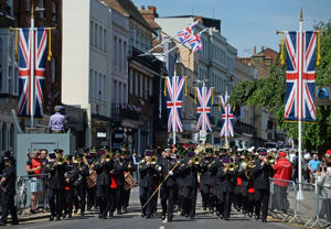 About 250 members of the armed forces are expected to take part in Saturday's festivities (Kirsty O'Connor/PA)