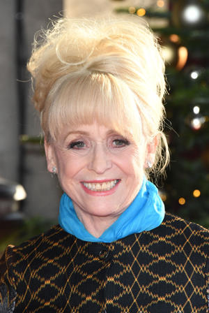 LONDON, ENGLAND - DECEMBER 12:  Barbara Windsor attends the TRIC Awards Christmas lunch at Grosvenor House, on December 12, 2017 in London, England.  (Photo by Stuart C. Wilson/Getty Images)