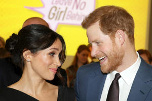 Meghan Markle and Prince Harry - provided by Shutterstock
