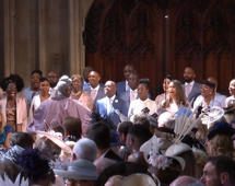 Royal Wedding showstopper as choir sings 'Stand By Me'