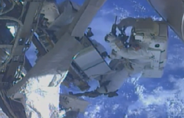 Astronaut on spacewalk realizes he forgot camera SD card
