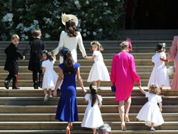 The lead-up to the royal wedding was all about Meghan Markle and Prince Harry. This makes sense considering it was their special day, but some of their guests ended up stealing the show.  No, we're not talking about her new sister-in-law Kate Middleton or the impeccably dressed Amal Clooney. We're talking about the ever adorable Prince George and Princess Charlotte. They've captured everyone's hearts before with their first day of school photos and waves to the public, but they almost upstaged Markle on Saturday alongside their fellow bridesmaids and page boys.  Here are nine times the siblings stole the show at the royal wedding.