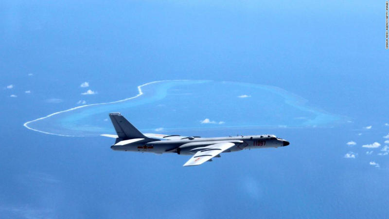 """BEIJING, July 26, 2017 : File photo taken in July, 2016 shows Chinese H-6K bomber patrolling islands and reefs including Huangyan Island in the South China Sea. It has been a big year for China's military as the People's Liberation Army (PLA) is to celebrate its 90th birthday. As Aug. 1, the birthday of the PLA, approaches, the country's army has shown how much its military capacity has grown and how committed it is to maintaining world peace.The PLA has come a long way since its birth during the armed uprising in the city of Nanchang on August 1, 1927, when it had only 20,000 soldiers. Ninety years later, the country boasts 2 million servicemen, according to a national defense white paper titled """"China's Military Strategy,"""" published in 2015. Besides the growth in numbers, the PLA has armed its soldiers with world-class equipment. As of June 2017, the Chinese military had participated in 24 UN peacekeeping missions, sending 31,000 personnel, 13 of whom lost their lives in duty. Since 2008, the Navy has dispatched 26 escort task force groups, including more than 70 ships for escort missions in the Gulf of Aden and off the coast of Somalia. More than 6,300 Chinese and foreign ships have been protected during these missions. (Xinhua/Liu Rui via Getty Images): BEIJING, July 26, 2017 : File photo taken in July, 2016 shows Chinese H-6K bomber patrolling islands and reefs including Huangyan Island in the South China Sea. It has been a big year for China's military as the People's Liberation Army (PLA) is to celebrate its 90th birthday. As Aug. 1, the birthday of the PLA, approaches, the country's army has shown how much its military capacity has grown and how committed it is to maintaining world peace. The PLA has come a long way since its birth during the armed uprising in the city of Nanchang on August 1, 1927, when it had only 20,000 soldiers. Ninety years later, the country boasts 2 million servicemen, according to a national defense white paper titled """"China's Milita"""
