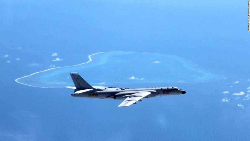 "BEIJING, July 26, 2017 : File photo taken in July, 2016 shows Chinese H-6K bomber patrolling islands and reefs including Huangyan Island in the South China Sea. It has been a big year for China's military as the People's Liberation Army (PLA) is to celebrate its 90th birthday. As Aug. 1, the birthday of the PLA, approaches, the country's army has shown how much its military capacity has grown and how committed it is to maintaining world peace.The PLA has come a long way since its birth during the armed uprising in the city of Nanchang on August 1, 1927, when it had only 20,000 soldiers. Ninety years later, the country boasts 2 million servicemen, according to a national defense white paper titled ""China's Military Strategy,"" published in 2015. Besides the growth in numbers, the PLA has armed its soldiers with world-class equipment. As of June 2017, the Chinese military had participated in 24 UN peacekeeping missions, sending 31,000 personnel, 13 of whom lost their lives in duty. Since 2008, the Navy has dispatched 26 escort task force groups, including more than 70 ships for escort missions in the Gulf of Aden and off the coast of Somalia. More than 6,300 Chinese and foreign ships have been protected during these missions. (Xinhua/Liu Rui via Getty Images): BEIJING, July 26, 2017 : File photo taken in July, 2016 shows Chinese H-6K bomber patrolling islands and reefs including Huangyan Island in the South China Sea. It has been a big year for China's military as the People's Liberation Army (PLA) is to celebrate its 90th birthday. As Aug. 1, the birthday of the PLA, approaches, the country's army has shown how much its military capacity has grown and how committed it is to maintaining world peace. The PLA has come a long way since its birth during the armed uprising in the city of Nanchang on August 1, 1927, when it had only 20,000 soldiers. Ninety years later, the country boasts 2 million servicemen, according to a national defense white paper titled ""China's Military Strategy,"" published in 2015. Besides the growth in numbers, the PLA has armed its soldiers with world-class equipment. As of June 2017, the Chinese military had participated in 24 UN peacekeeping missions, sending 31,000 personnel, 13 of whom lost their lives in duty. Since 2008, the Navy has dispatched 26 escort task force groups, including more than 70 ships for escort missions in the Gulf of Aden and off the coast of Somalia. More than 6,300 Chinese and foreign ships have been protected during these missions. (Xinhua/Liu Rui via Getty Images)"