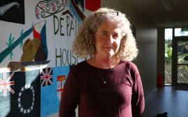 Jan Rutledge, general manager of De Paul House, Northcote.