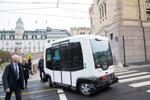 kjّrer Norges fّrste selvkjّrende buss
