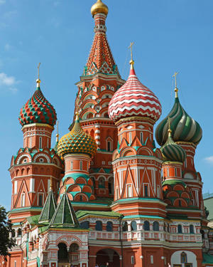 St. Basil's Cathedral, Red Square, Moscow, Russia - provided by Shutterstock