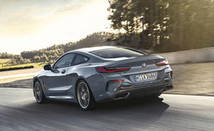 a car parked on the side of a road: BMW M850i xDrive Finally Breaks Cover: Here's What We Know