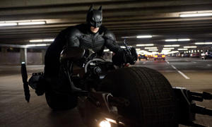 Quasi-fascist … Batman, played by Christian Bale, in The Dark Knight Rises 2012.