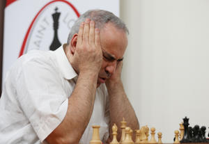 World chess champion Garry Kasparov (here pictured in 2017) lost a chess match in 1997 against IBM supercomputer Deep Blue. It was the first defeat of a reigning world chess champion by a computer under tournament conditions.