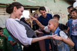 What Angelina Jolie about war-torn
