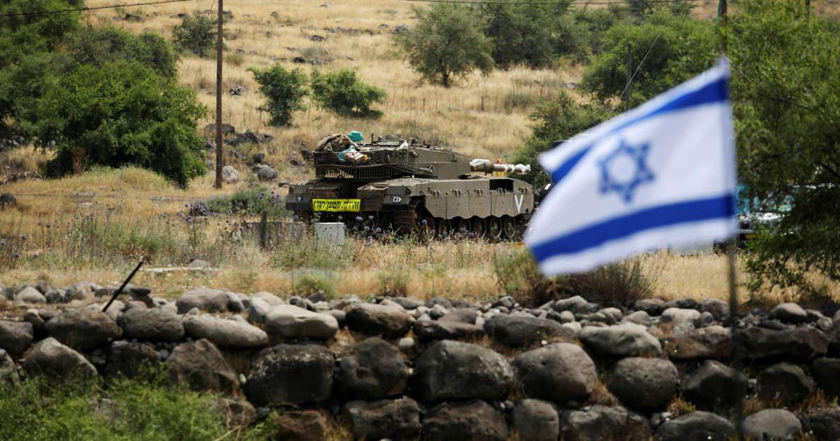 Israel behind airstrike in Syria, US official says