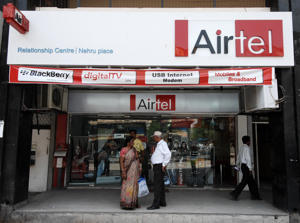 Airtel Relartionship Centre at Nehru Place in New Delhi.