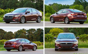 a car parked in a parking lot: The New Normal? We Drive the All-New Honda Insight