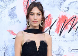 Alexa Chung attending the Serpentine Summer Party 2018 held at the Serpentine Galleries Pavilion, Kensington Gardens, London.