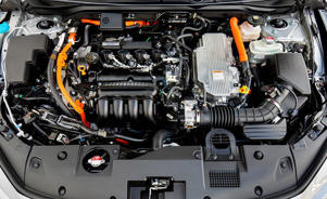 a close up of an engine: The New Normal? We Drive the All-New Honda Insight