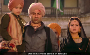 A still from Gadar. (Image courtesy: YouTube)