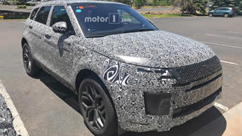 New Range Rover Evoque Interior Spy Photos