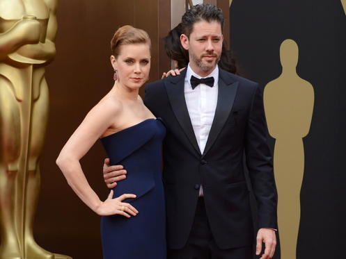 Diapositiva 1 de 14: Oscars 2014: Amy Adams and Darren Le Gallo