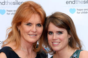 Sarah Ferguson - Duchess of York and Princess Eugenie - provided by Shutterstock
