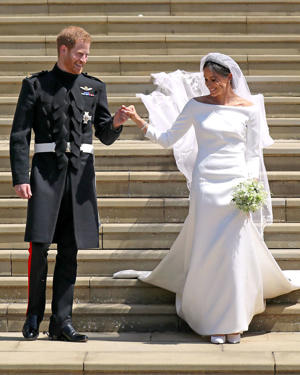 Prince Harry and Meghan Markle - provided by Shutterstock