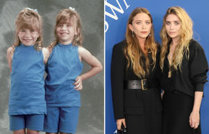 Full House - 1989; NEW YORK, NY - JUNE 04: Mary-Kate Olsen and Ashley Olsen attend the 2018 CFDA Awards at Brooklyn Museum on June 4, 2018 in New York City. (Photo by Taylor Hill/FilmMagic)