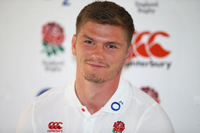 7th June 2018, Kashmir restaurant,Umhlanga, Durban,South Africa.  Owen Farrell (Saracens) during the England Press Conference at the  Kashmir restaurant (photo by Steve Haag/Action Plus via Getty Images)