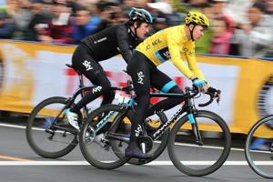 Cycling: Tour de France Saitama Criterium Christopher FROOME (Gbr)/ Saitama-Saitama (54 km)/ /(c) Tim De Waele (Photo by Tim de Waele/Corbis via Getty Images)