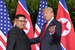 Pertemuan Bersejarah Trump Jong