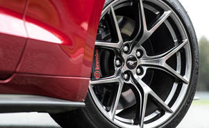 a wheel of a car: Ford Mustang GT Performance Pack Level 2 Puts the Focus on the Track