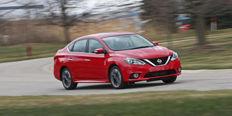The 2018 Nissan Sentra SR Turbo packs a Sentra NISMO punch in a Sentra SR package. Read more and see images at Car and Driver.