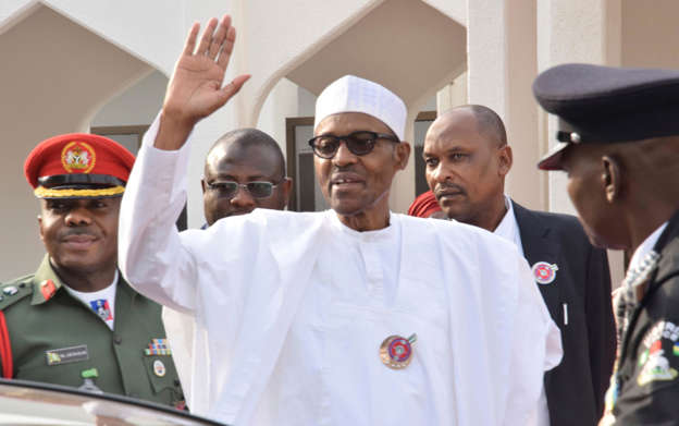 Image result for I'm confident of winning the election, says Buhari