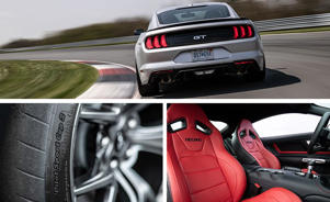 a car parked on the side of the road: Ford Mustang GT Performance Pack Level 2 Puts the Focus on the Track
