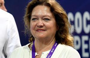 Mining magnate and business women Gina Rinehart.