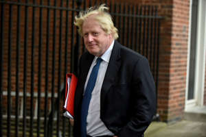 Foreign Secretary Boris Johnson leaves 10 Downing Street in central London on June 12, 2018. MPs in the House of Commons will vote today on a string of amendments to a key piece of Brexit legislation that could force the government's hand in the negotiations with the European Union. (Photo by Alberto Pezzali/NurPhoto via Getty Images)