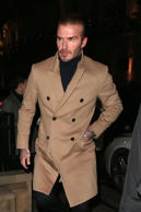 LONDON, ENGLAND - DECEMBER 14:  David Beckham attends Victoria Beckham Christmas Open House hosted by Victoria Beckham, David Beckham and British Vogue at Victoria Beckham, Dover Street, on December 14, 2017 in London, England.  (Photo by Ricky Vigil/GC Images)
