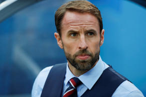 Head coach Gareth Southgate of England is seen during the 2018 FIFA World Cup Russia Group G match between England and Panama at the Nizhny Novgorod Stadium  in Nizhny Novgorod