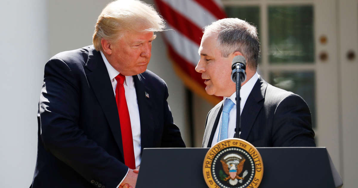 Pruitt Says Trump is Serving Because of God